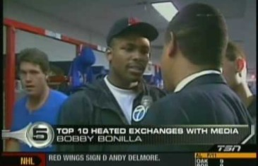 Top 10 sports most heated interviews