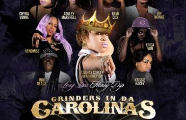 (Mixtape) Grinders In Da Carolinas Vol. 21 (Ladies Edition) @NCtoSCconnect