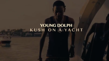 """(Video) Young Dolph """"Kush On The Yacht"""" @youngdolph"""