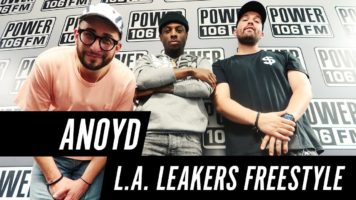 (Video) ANoyd Freestyle With LA Leakers on Power 106 @LivinANoyd @LALeakers
