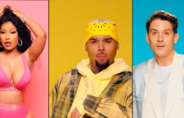 "Chris Brown Links up with Nicki Minaj & G-Eazy for New Video ""Wobble Up"""