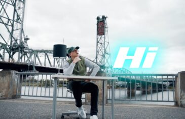 "SamuelThe1st Releases His New Visual ""Hi"" @SamuelThe1st @DeadxBrainz"