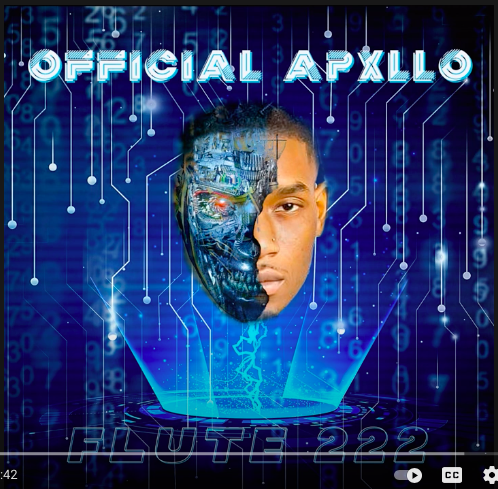 Official Apxllo drops another single with the Orchard and WeUniversal called flute 222. ( @theofficial_apxllo )