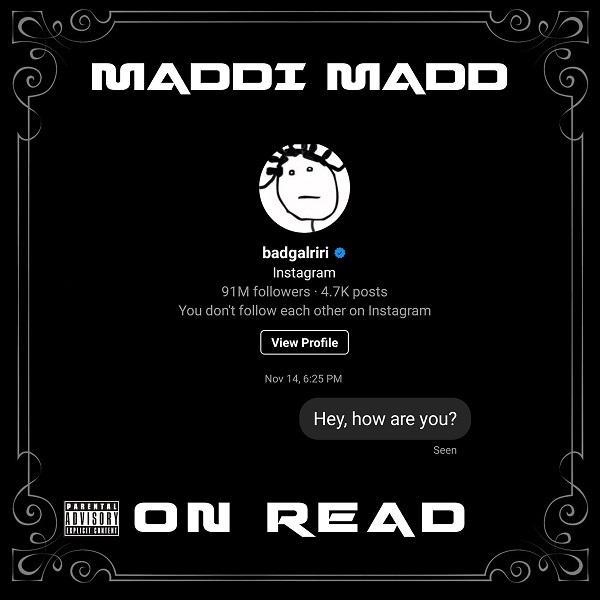 Maddi Madd – On Read