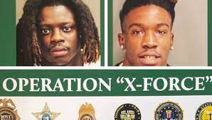 As part of the 34-man 'OPERATION X-FORCE,' FLORIDA RAPPERS 9LOKKNINE & HOTBOII were slapped with RICO charges