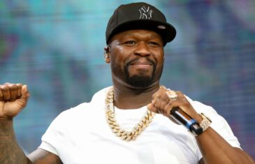50 CENT JOINS SNOOP DOGG IN THE RAPPER BOXING CRAZE, SERVING AS THE TRILLER COMMENTATOR FOR THE HOLYFIELD VS. BELFORT FIGHT.